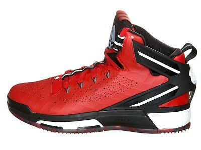 new product 4f8ad 9a6ee Adidas S85533 Performance D Rose 6 Boost Basketball Schuhe 54 2 3 UK18 Rot  Black