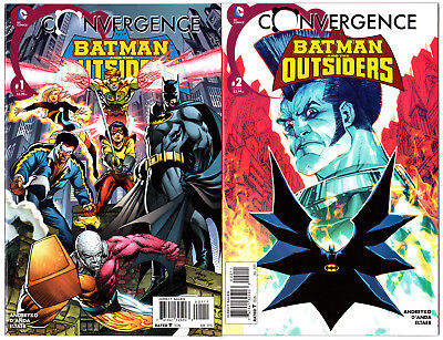 Us Convergence Batman And The Outsiders # 1 - 2 Komplettset Dc