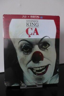 Blu ray steelbook ÇA (Stephen King's IT) édition Française NEUF New & Sealed