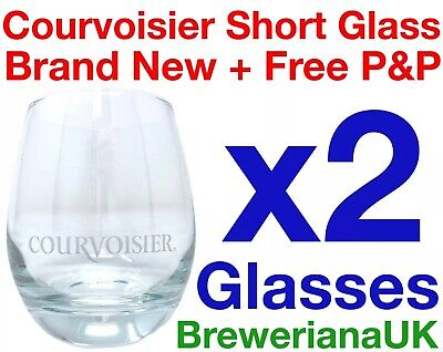 Single Courvoisier 33cl Brandy Glass Brand New 100/% Genuine Official