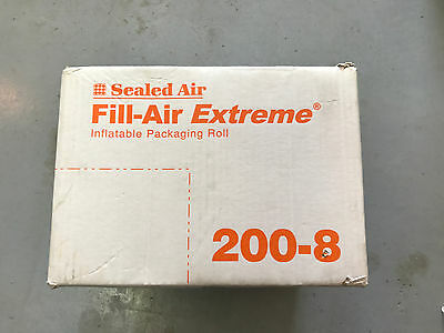 """Sealed Air Fill Air Extreme 200-8 8""""x 8"""" packing bags.4200/ roll"""