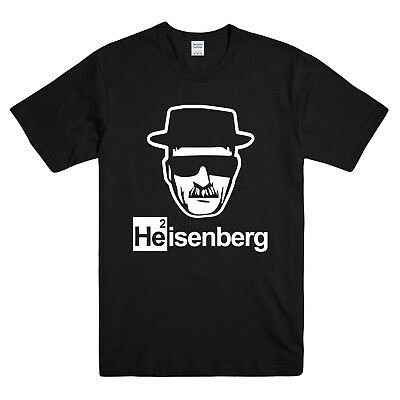 Heisenberg Printed Mens T-Shirt Tshirt Tee Breaking Bad Walter White Tv Netflix