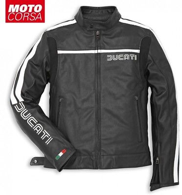 Ducati 80s Jacket by Dainese Perforated and Non-Perforated sizes 46 to 58 Euro