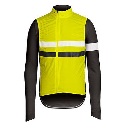 Rapha Grey Long Sleeve Brevet Jersey with Gilet. Size X Small. BNWT.