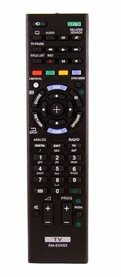 Replacement Remote Control for Sony RM-ED052 RMED052 2014 - 2016