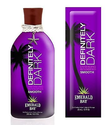 Emerald Bay - Definitely Dark - Sunbed Tanning Lotion Cream - Sachet & Bottle