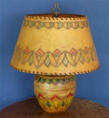 Vintage arts crafts period table lamp nice monterey southwest vintage arts crafts period table lamp nice monterey southwest aloadofball Images