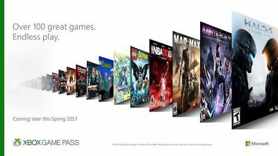 Xbox One Game Pass 3 Months Subscription Within 24Hrs Delivery Business Days