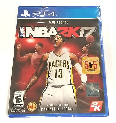 NBA 2K17 for PlayStation 4 PS4 *BRAND NEW & SEALED*