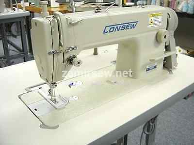 Consew 7360Rh Single Needle Industrial Sewing Machine New Complete &servo Motor