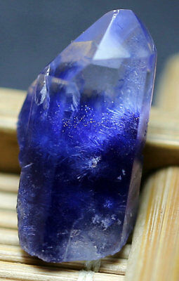 7.1Ct 100% Natural Clear Blue Dumortierite Crystal Polished Specimen