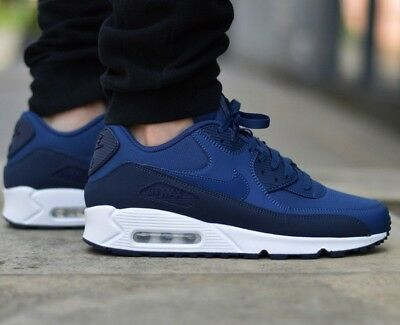 size 40 010f0 e6f29 ... cheap nike air max 90 essential obsidian navy sneaker mens lifestyle  shoes 5f4dc ca881