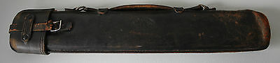 Antique Bull's Head Brand Leather Music Stand Case Maulbetcsh And Whittemore