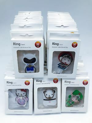 LOT of 20 360° Rotating i Ring  cartoon for All Cell phones aj