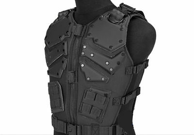 Black Tactical Molle Hunting Combat Body Vest Body Protector Training Vest