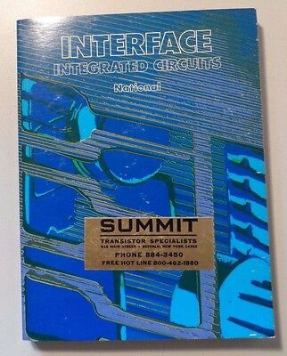 1975 National Semiconductor Interface Integrated Circuits Book
