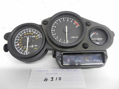 Yamaha Fzr1000 Exup Ru Clocks  (4310)