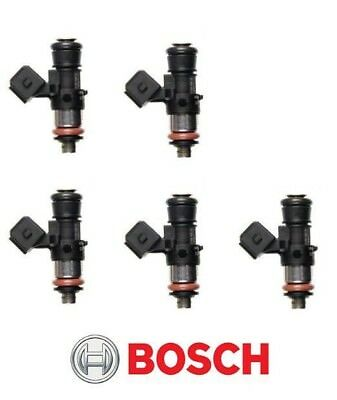 GENUINE Bosch 0280158333 1650CC 157lbs EV14 Short Fuel Injectors (5) *IN STOCK*