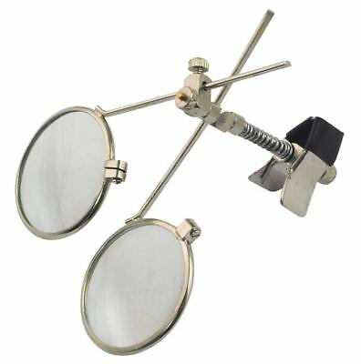 Rolson Clip On Spectacle Eye Loupe High Quality 3.3X 5X Together 16.5X Tools New
