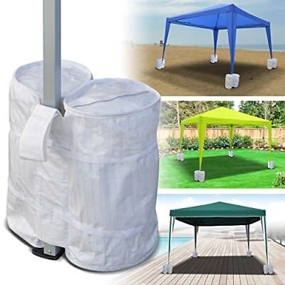 4 PCS Canopy weight bag For Secure Tent Strong Sturdy Leg Feet Kit Outdoor Party