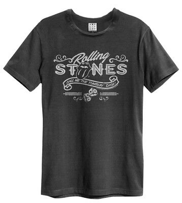 THE ROLLING STONES'Tumblin Dice' T-shirt - Amplified Clothing - Neuf et officiel
