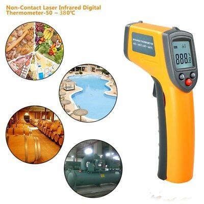 GM320 Non-Contact LCD IR Infrared Laser Temperature Thermometer Gun Point AW