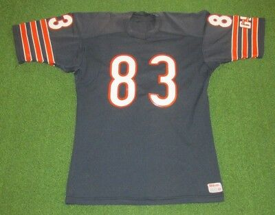 77e405147bb 1980s CHICAGO BEARS VINTAGE WILLIE GAULT TEAM GAME ISSUED WILSON FOOTBALL  JERSEY
