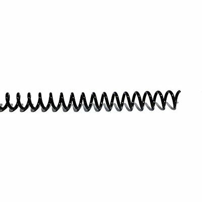 """Combs & Spines 12mm (15/32"""") Black Coil Bindings (Qty 100)"""