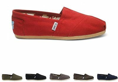 Toms Womens Classic Canvas BLACK, GRAY, RED, BLUE,coffee Free Ship
