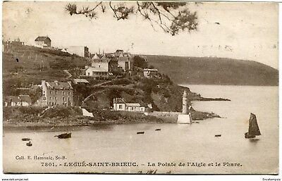 CPA - Carte postale -  FRANCE - Legué Saint Brieuc - La pointe de l'Aigle-1930