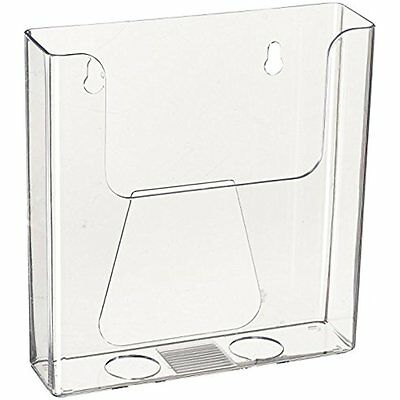 Desk Accessories & Workspace Organizers Source One Inch BiFold Wall Mount Clear