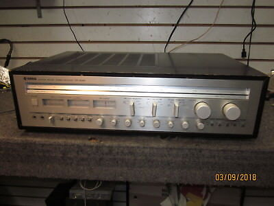YAMAHA CR-2040 MONSTER RECEIVER  240 watts into 8 ohms!,tuner n.g. sold as is