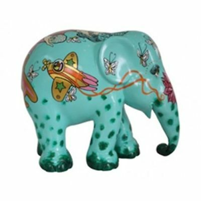 Elefant der ELEPHANT PARADE - HE WHO WALKS WITH SILVER ON - 30cm - limitiert