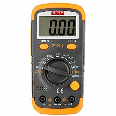 Capacitance Meters DT6013 Capacitor Tester 0.1pF 20mF With Data Hold And Back