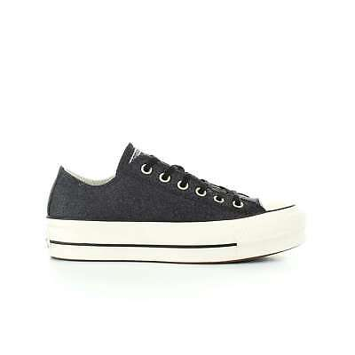 4fd0bd46ccc8f Converse sneakers donna CT all star platform glitter art. 561040C col. nero