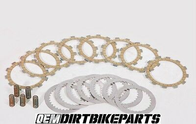 Yamaha Yz250f Clutch Complete Wr250f OEM Friction Plate Steel Pack Stock Springs