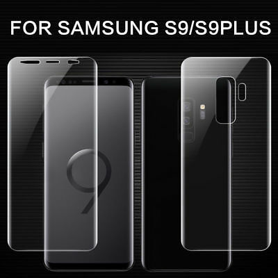 For Samsung Galaxy S9 / S9 Plus PET Soft Full Cover Front Back Protector Film