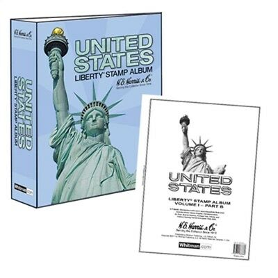 Stamps Album US Liberty I Part B 1995 - 2006 Pages and Binder HE Harris NEW