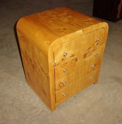 SUPERB!! Large 4 drawers Art Deco style side commodes