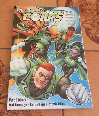 DC Green Lantern Corps The Dark Side of Green Softcover Paperback TPB