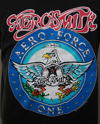 "Vintage Aerosmith ""Aero Force One"" concert T shirt (1993)"