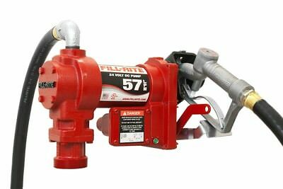 Fill-Rite 24 Volt DC Pump with Hose and Manual Nozzle