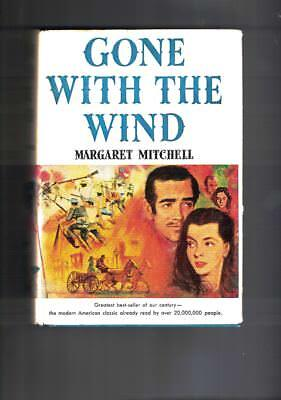 Gone With The Wind ;margaret Mitchell Hard Covers Dj 1936