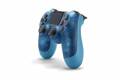 Wireless controller (DUALSHOCK 4) Blue Crystal Sony Official Japan PS4 New