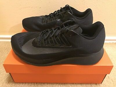 NIKE ZOOM FLY Running Shoes Men s Sz 10 Black Anthracite 880848 003 ... c5b79f087