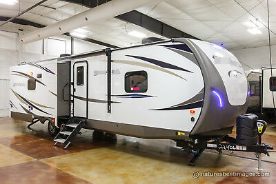 New 2018 316RLTS Rear Living Room Bedroom Slide Out Travel Trailer Never Used
