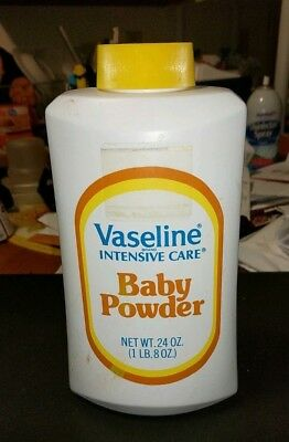 Rare Htf Vintage Vaseline Brand Baby Powder Full 24 Oz. (New Lower Price)