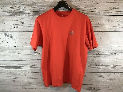 Tommy Bahama Mens Burnt Orange Graphic Shirt The Pursuit Of Hoppiness Large  NWT 12a522f04