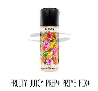 Mac Prep+Prime Fix+ FRUITY JUICY Primer LIMITED EDITION. BRAN NEW. FREE DELIVERY
