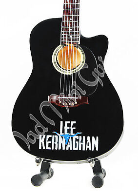 Miniature Guitar LEE KERNAGHAN with free stand